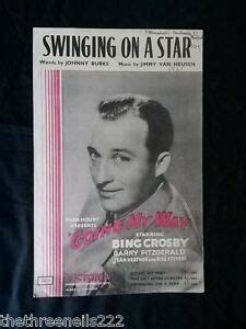 swing on a crosby original sheet swinging on a going my way
