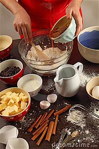 Mixing Ingredients In A Bowl Stock Photos - Image: 22980413