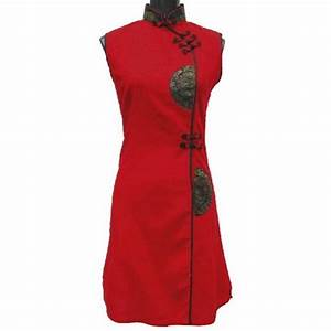 robe chinoise rouge With robe chinoise rouge