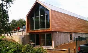 Cool 40 modern steel frame homes design ideas of for Exterior paneling for homes