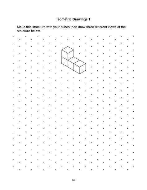 Printable Isometric Dot Grid Paper