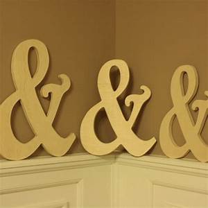 16 wooden ampersand photography prop wooden alphabet With wooden letters for photo props
