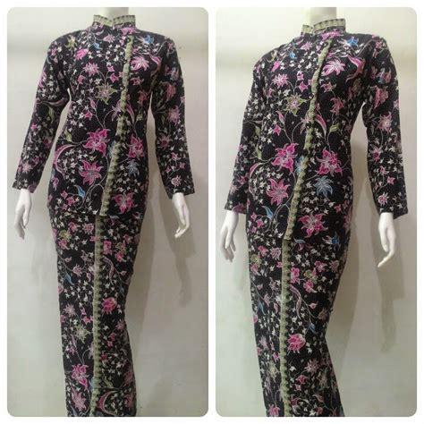 kemeja blouse motif baju batik pramugari motif melati batik bagoes