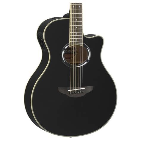 yamaha apx 500 yamaha apx500 iii electro acoustic guitar black at gear4music