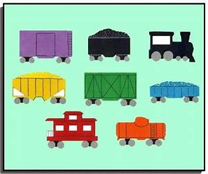 Want your own Freight Train flannel board set? Busy ...