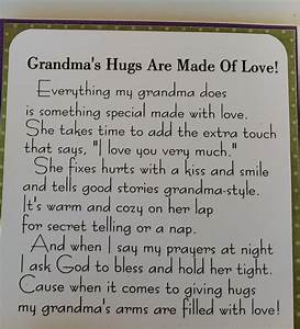 Valentines Day Poems To Grandma | Grandparent's Day ...