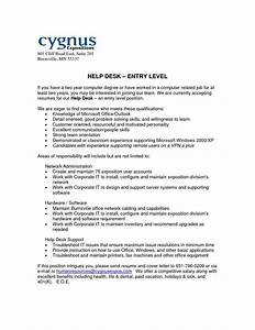 Download Help Desk Cover Letter Examples Entry Level Business Plan Writers In Orange County
