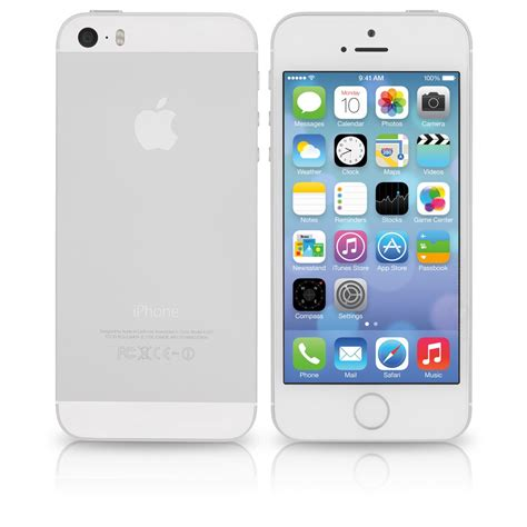 apple iphone 5s apple iphone 5s a1533 at t 16gb white silver bulk