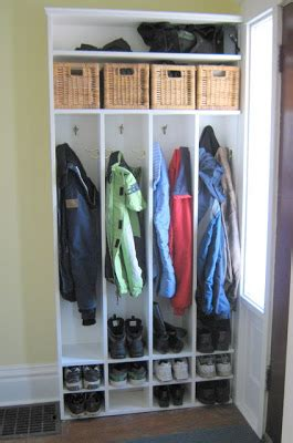 Small Hallway Closet Organization Ideas by Abundance On A Dime The Frugal Fixer Front