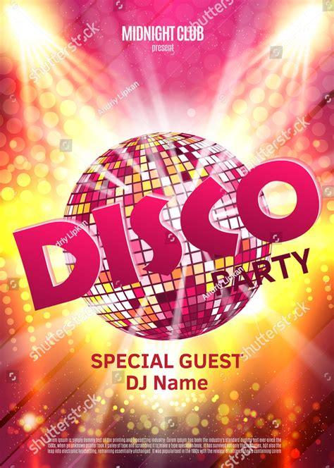 disco party invitation designs examples