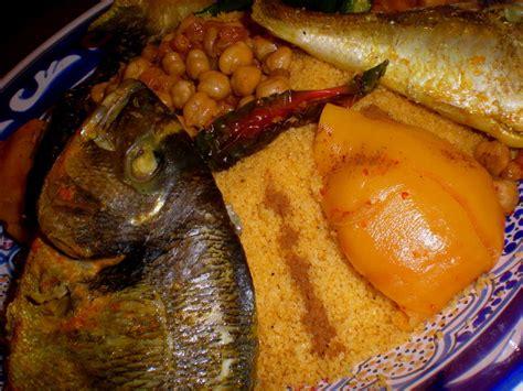 le couscous djerbien aux poissons cuisine tunisienne