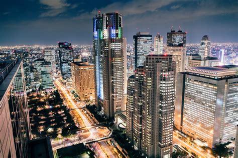 Tokyo Skyline Night - From Above - Japan | Tokyo Cityscape ...