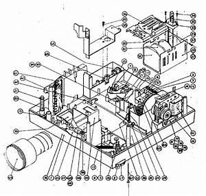 Mechanism Assembly Diagram  U0026 Parts List For Model 18698320 Sears