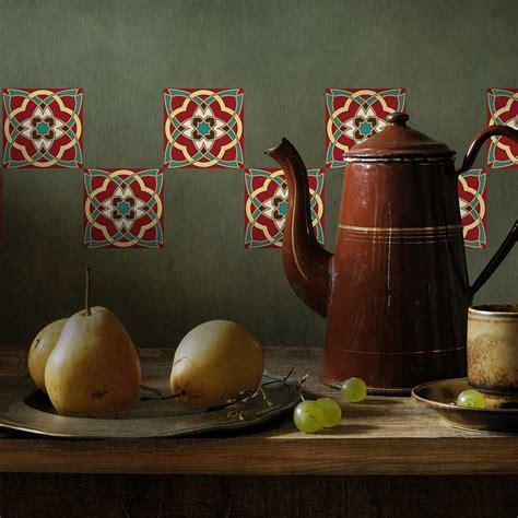 stickers pour faience cuisine stickers pour faience arabesque beestick