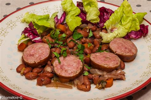 cuisiner une saucisse de morteau saucisse de morteau aux haricots borlotti kilometre 0 fr