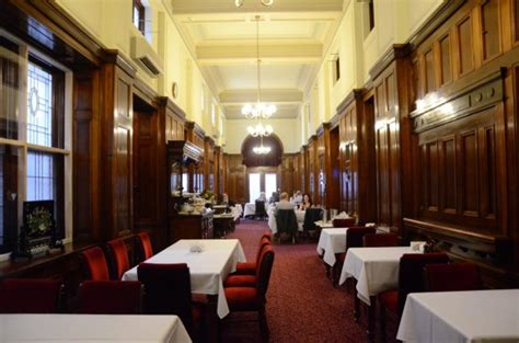 dining  strangers corridor parliament house city