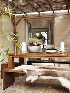 Deko Für Terrasse : felle gem tliche deko f r terrasse garten garten haus und gem tliche terrasse ~ Orissabook.com Haus und Dekorationen