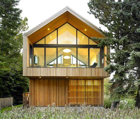 Moderne Häuser Kanada by Modernes Einfamilienhaus Holz Satteldach S 248 K