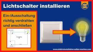 Schaltplan Einfache Ausschaltung : elektroinstallation schaltungen schaltpl ne einfach ~ Haus.voiturepedia.club Haus und Dekorationen