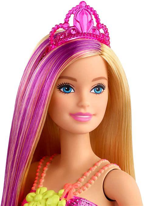 Barbie Dreamtopia Princess Doll Blonde with Purple Hairstreak