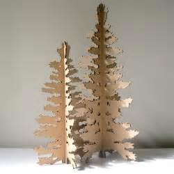 cardboard christmas tree paper christmas tree holiday