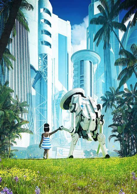 Ξ S P Ξ R on Twitter in 2021 | Futuristic art, Futuristic city, Sci fi concept art