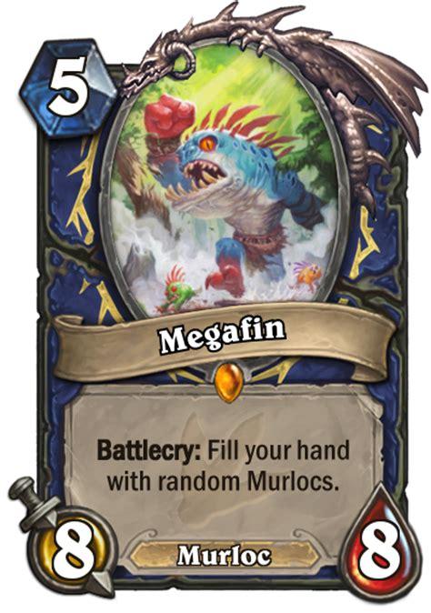 murloc shaman deck no quest megafin blizzpro s hearthstone