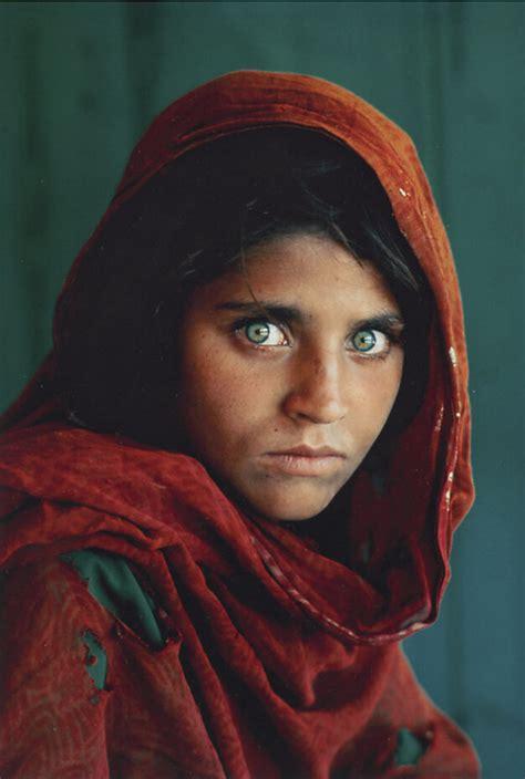 steve mccurry afghan girl  cea flickr