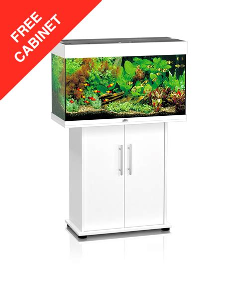 aquarium products juwel 125 white set