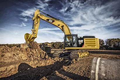 Excavator Cat Rentals Construction Western General Mountain