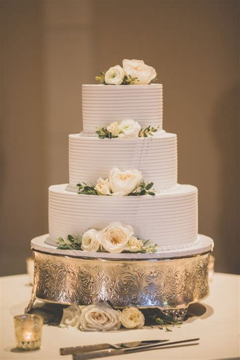 Elegant 3 Tier Wedding Cake Yelp
