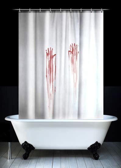 rideau de douche meurtre design le dindon