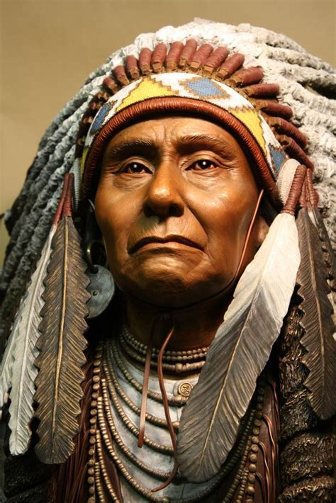 Indian Chief Picture by Chief Joseph Nez Perce Nimi Ipuu Indigenous Peoples