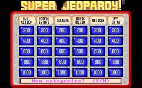 super jeopardy   puzzle game