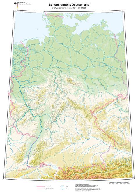 topographische karte deutschland fluesse  blog