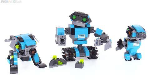city on robo lego creator 3 in 1 robo explorer review 31062