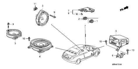 Honda Online Store Civic Speaker Parts