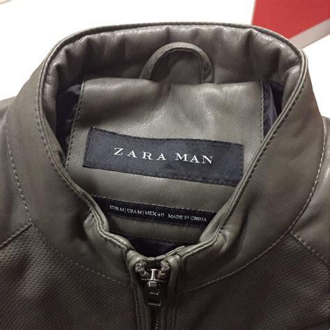 jaket kulit zara ukuran  mens fashion mens clothes