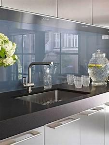 Farben Für Küche : wohnideen f r k che glasr ckwand glanzvoll farben leuchtend chromatisch k chenr ckwand ~ Orissabook.com Haus und Dekorationen