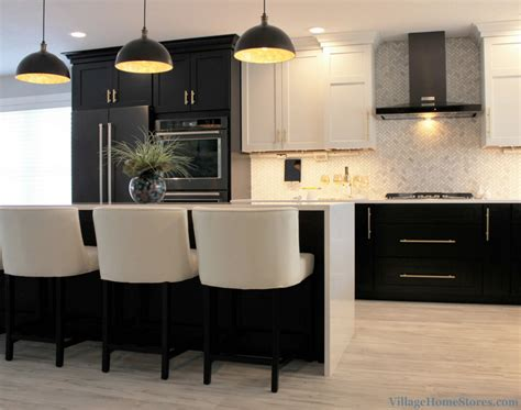 white black lower kitchen cabinets black white and gold kitchen remodel home stores 2118