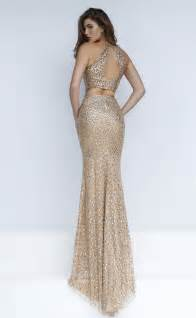 occassion dresses multi color beaded two gold sheath prom