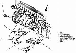 Remove Alternator 1995 Cadillac Eldorado