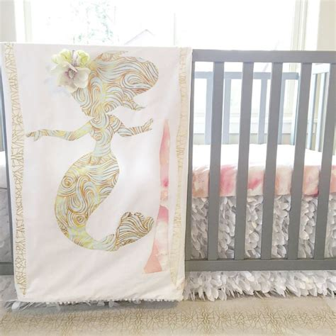 mermaid crib bedding best 20 mermaid nursery ideas on