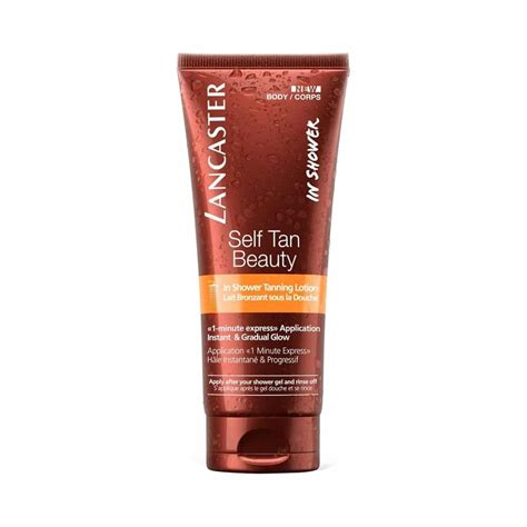 Lancaster Self Tan Beauty Shower Tanning Lotion