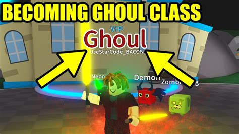 highest class ghoul  saber simulator roblox