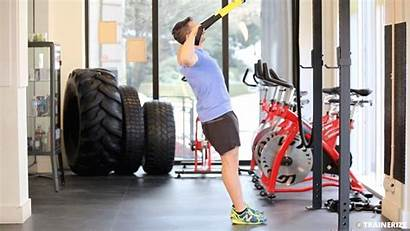 Suspension Training Fitness Exercises Business Exercise Row