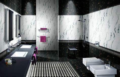 Badezimmer Weiß Schwarz by Badezimmer Schwarz Wei 223 Gestaltung Mit Gegens 228 Tzen