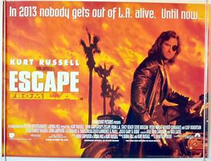 Escape From L.A. - Original Cinema Movie Poster From ...