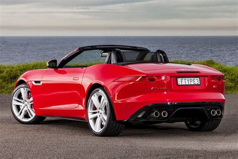 Jaguar F-type Convertible Red Color