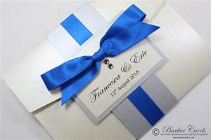 royal blue wedding invitation samples picture ideas With royal blue and cream wedding invitations